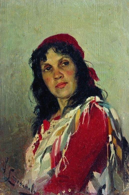 Степанов А. С. Портрет С.П.Кувшинниковой. 1888-