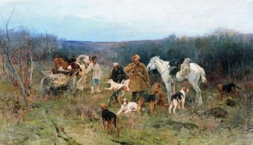 Степанов А. С. После охоты