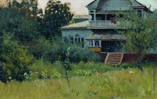 Степанов А. С. Усадьба летом