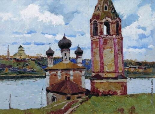 Стожаров В. Ф. Тутаев. Преображенско-Казанская церковь на романовской стороне
