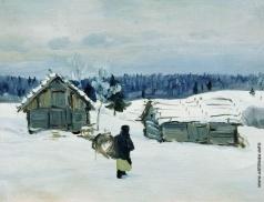Столица Е. И. Зимой в деревне