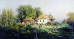 Суходольский П. А. В деревне