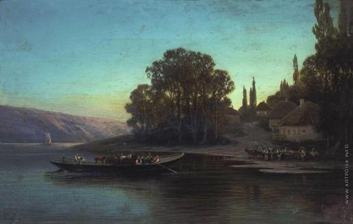 Суходольский П. А. Ночной пейзаж