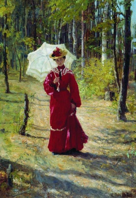 Сычков Ф. В. Женский портрет