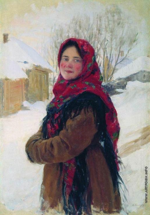Сычков Ф. В. Крестьянская девушка