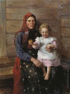 Сычков Ф. В. Няня (Сестра художника)