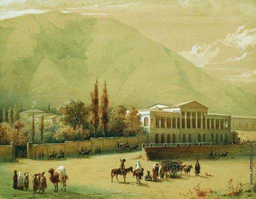 Тимм В. Ф. Старый Тбилиси