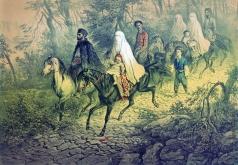 Тимм В. Ф. Татарское семейство