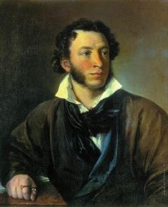 Тропинин В. А. Александр Сергеевич Пушкин