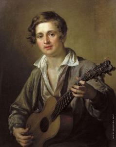 Тропинин В. А. Гитарист