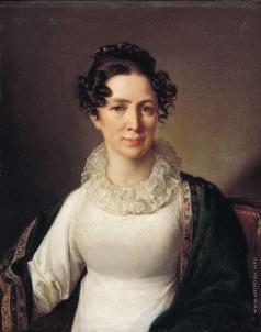 Тропинин В. А. Портрет Анны Андреевны Тропининой, сестры художника