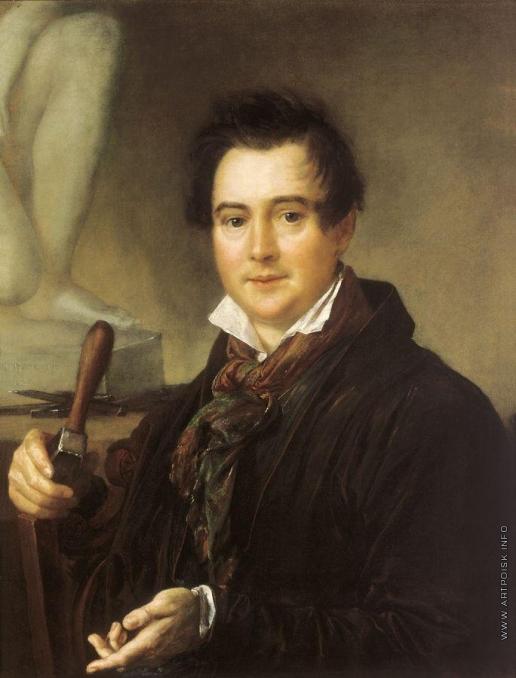 Тропинин В. А. Портрет скульптора И.П.Витали. Около