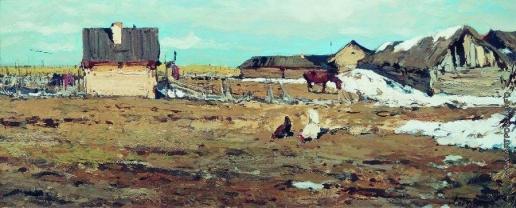 Туржанский Л. В. Весенний пейзаж