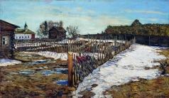 Туржанский Л. В. Весна в западном крае