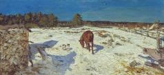 Туржанский Л. В. Зимой