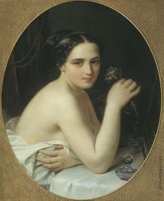 Тыранов А. В. Девушка с цветком
