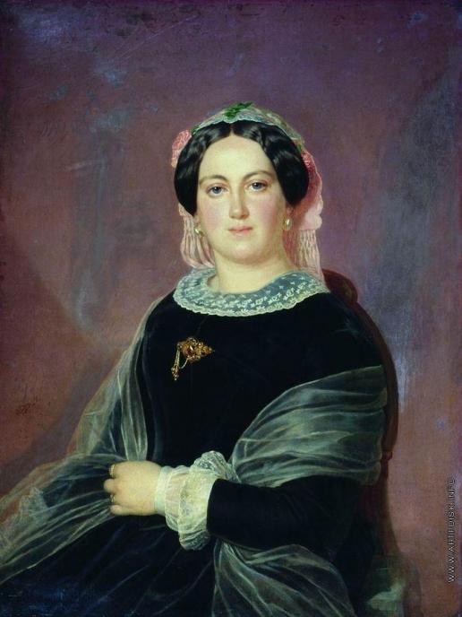 Тыранов А. В. Женский портрет