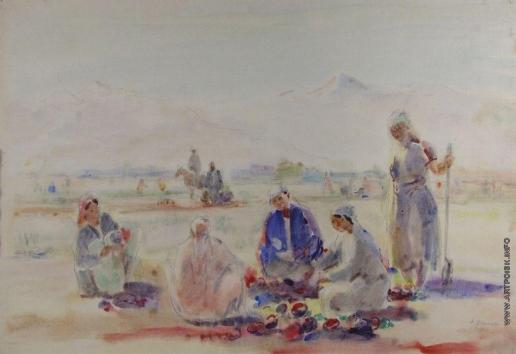 Урманче Б. И. В уйгурском колхозе