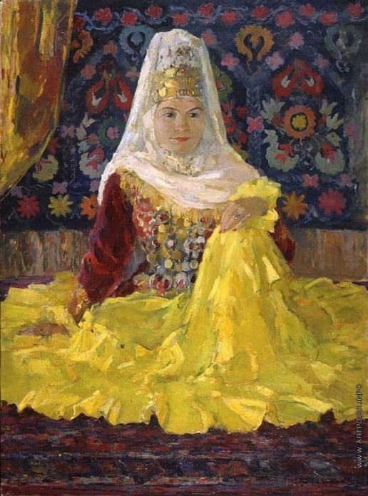 Урманче Б. И. Народная артистка Казахской ССР Ш.Жандарбекова
