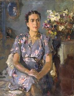 Урманче Б. И. Портрет певицы Муниры Булатовой
