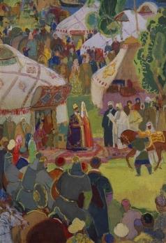 Урманче Б. И. Приезд Ибн Фадлана в Булгары