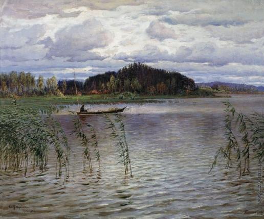 Федорович В. Н. Хмурый день. Озеро