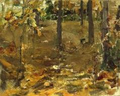 Фешин Н. И. Осенний пейзаж