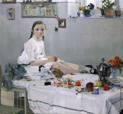 Фешин Н. И. Портрет Вари Одоратской