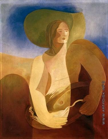 Экстер А. А. Женский портрет