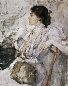 Фешин Н. И. Портрет неизвестной