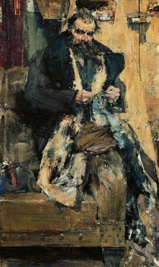 Фешин Н. И. Портрет отца
