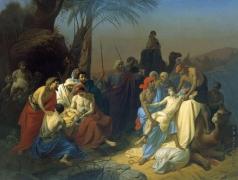 Флавицкий К. Д. Дети Иакова продают своего брата Иосифа