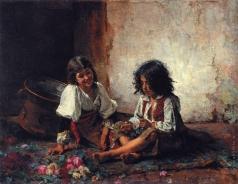 Харламов А. А. Итальянские дети