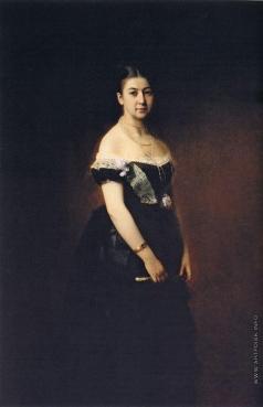 Харламов А. А. Портрет Е.А.Третьяковой