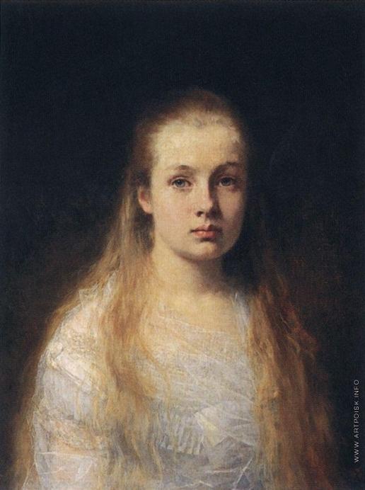 Харламов А. А. Портрет девушки