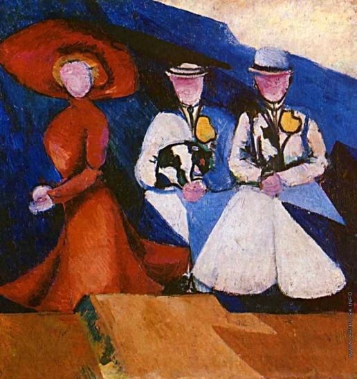 Экстер А. А. Три женщины