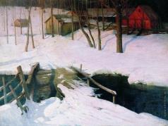 Химона Н. П. Финляндия. Закат солнца