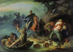 Худяков В. Г. Стычка с финляндскими контрабандистами