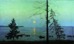 Чернышев Н. М. Ночь на озере Сенеж