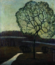 Чернышев Н. М. Сумерки (Дерево)
