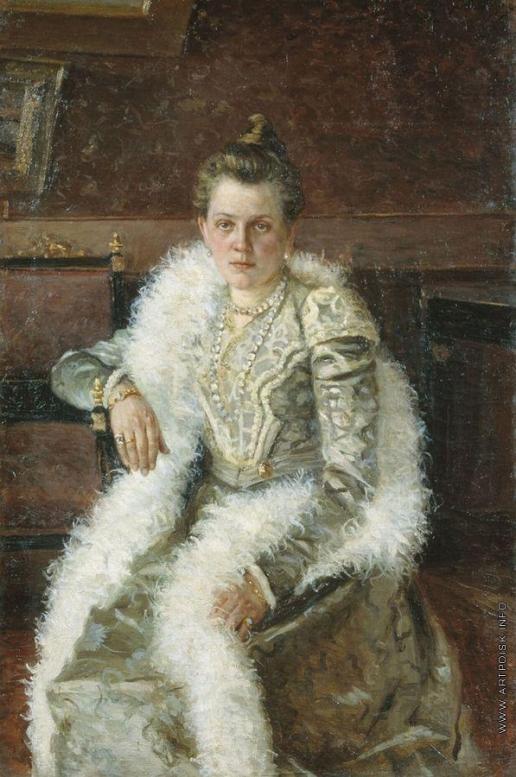 Шабунин Н. А. Женский портрет