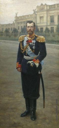 Шабунин Н. А. Портрет Николая II