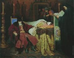 Шварц В. Г. Иоанн Грозный у тела убитого сына