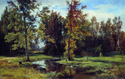 Шишкин И. И. Березовый лес