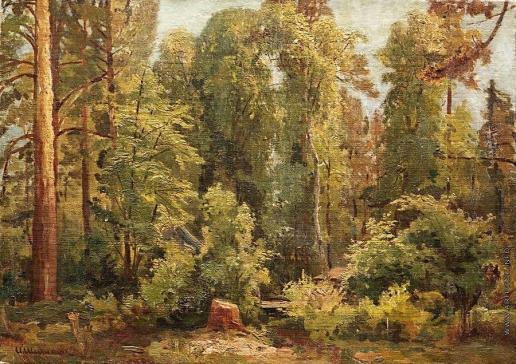 Шишкин И. И. В лесу