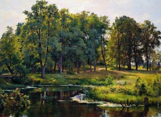 Шишкин И. И. В парке