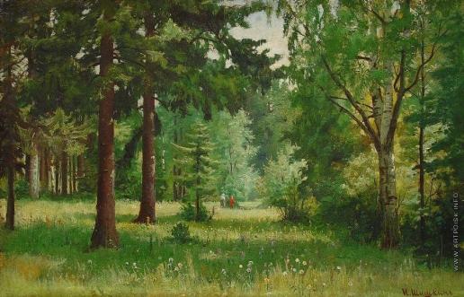 Шишкин И. И. Дети в лесу