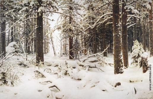 Шишкин И. И. Зима