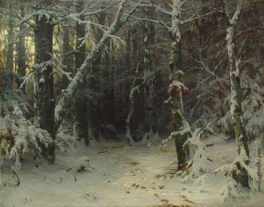Шишкин И. И. Зимний лес