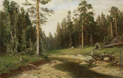 Шишкин И. И. Корабельный лес